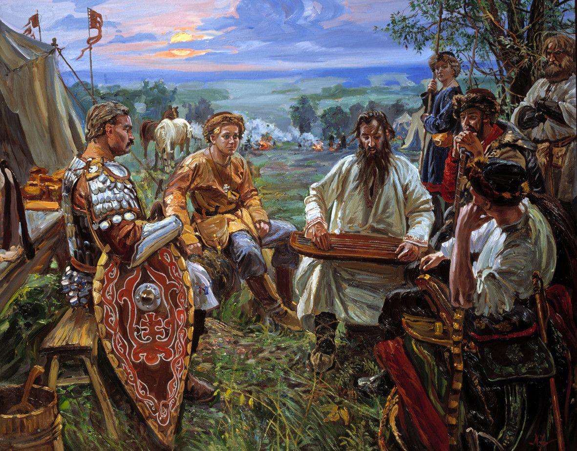 Люди древней руси картинки