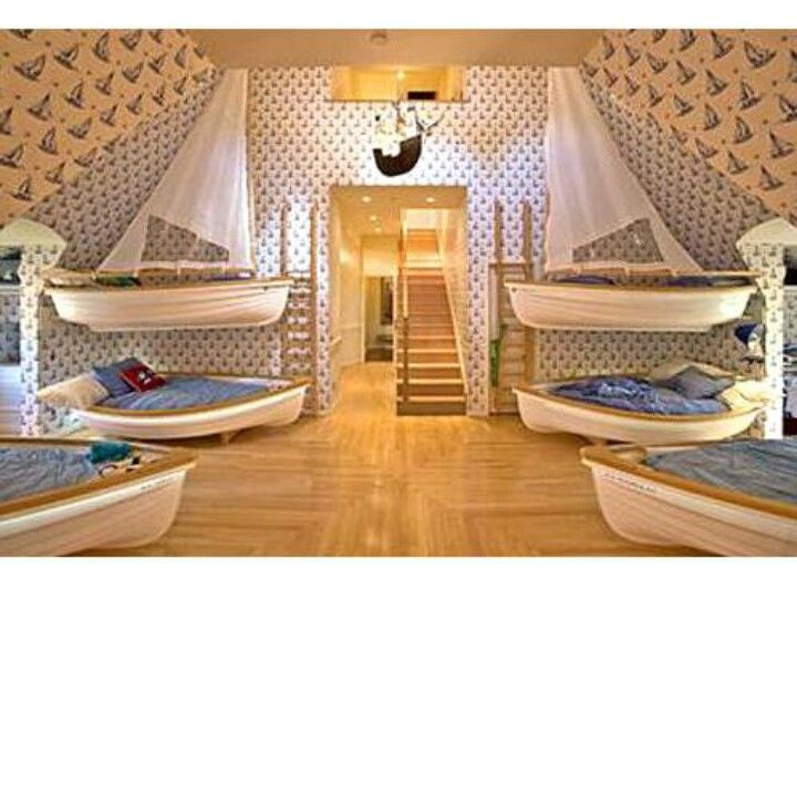 Do It Yourself Home Design: Awesome Boat Beds For Kids.