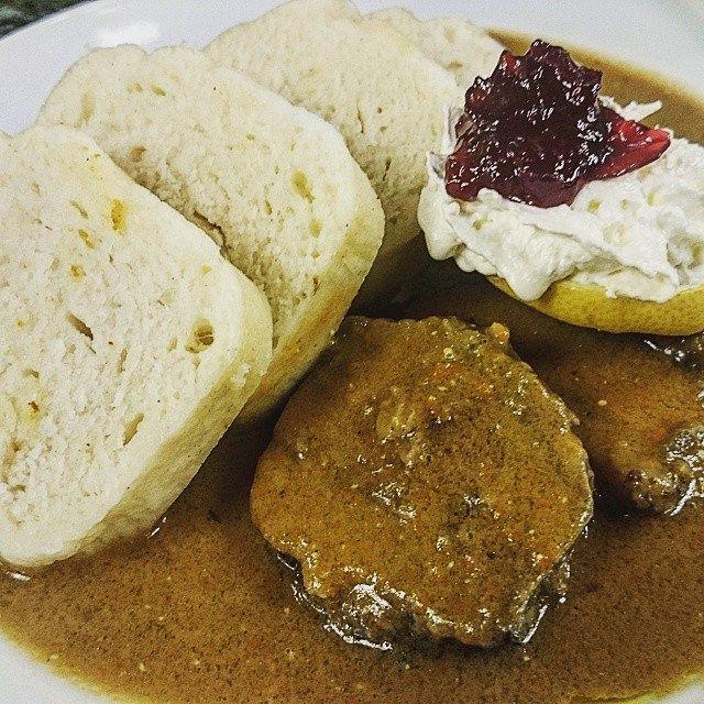 How To Make Authentic Czech Bread Dumplings Recipe Czech Recipes Bread Dumplings Recipes Recipes