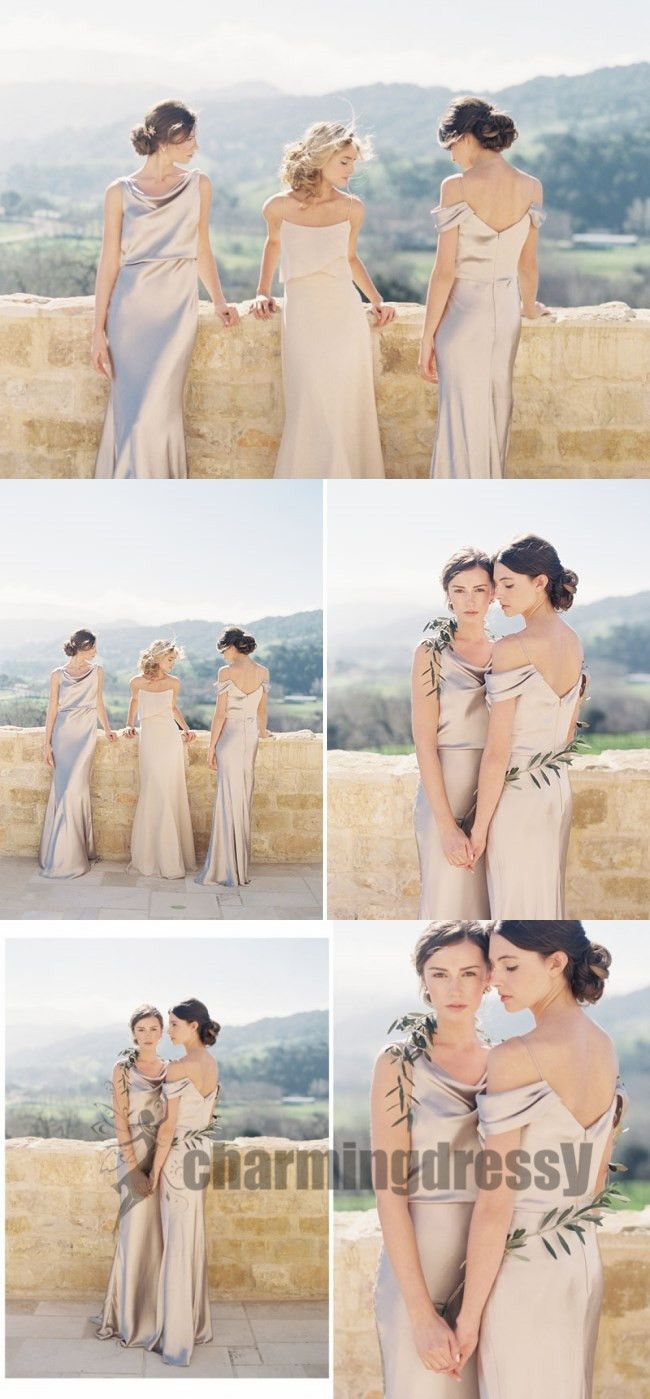 New arrival simple comfortable cheap bridesmaid dresses wedding