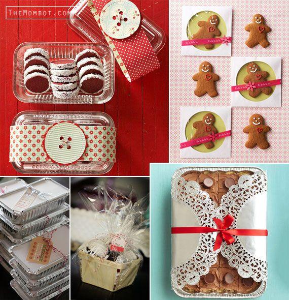 Christmas Dessert Treats Packaging The Mombot Dessert Packaging Christmas Desserts Treats Cookie Packaging