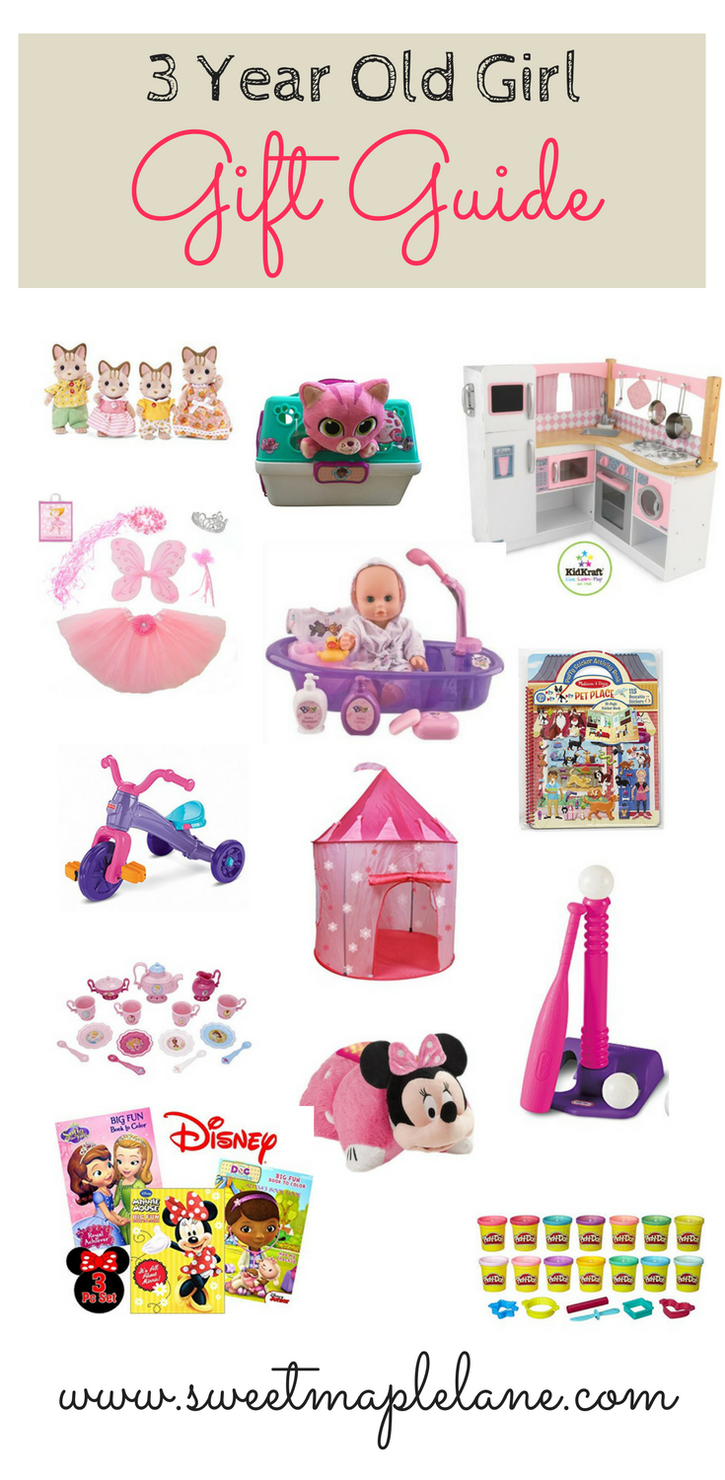 3 year old girl gift guide from sweet maple lane | sweet maple lane