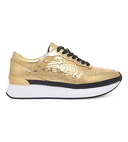 KENZO Flying metallic trainers #kenzo #shoes #trainers Kenzo - courtesy clerk