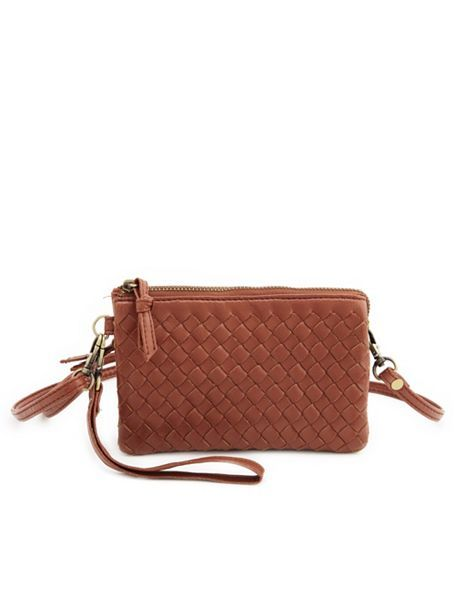 41a5a794261f6 Mini Woven Cross-Body Bag: Charlotte Russe | Previous | Bags, Purses ...
