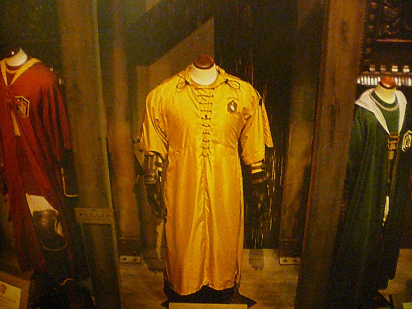 Hufflepuff Quidditch Robes