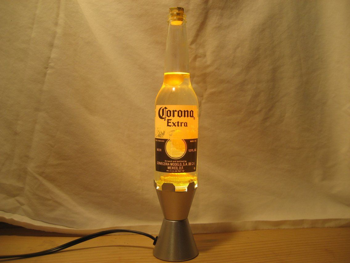 Corona Beer Lava Light Lamp 12 Oz 49 00 Via Etsy