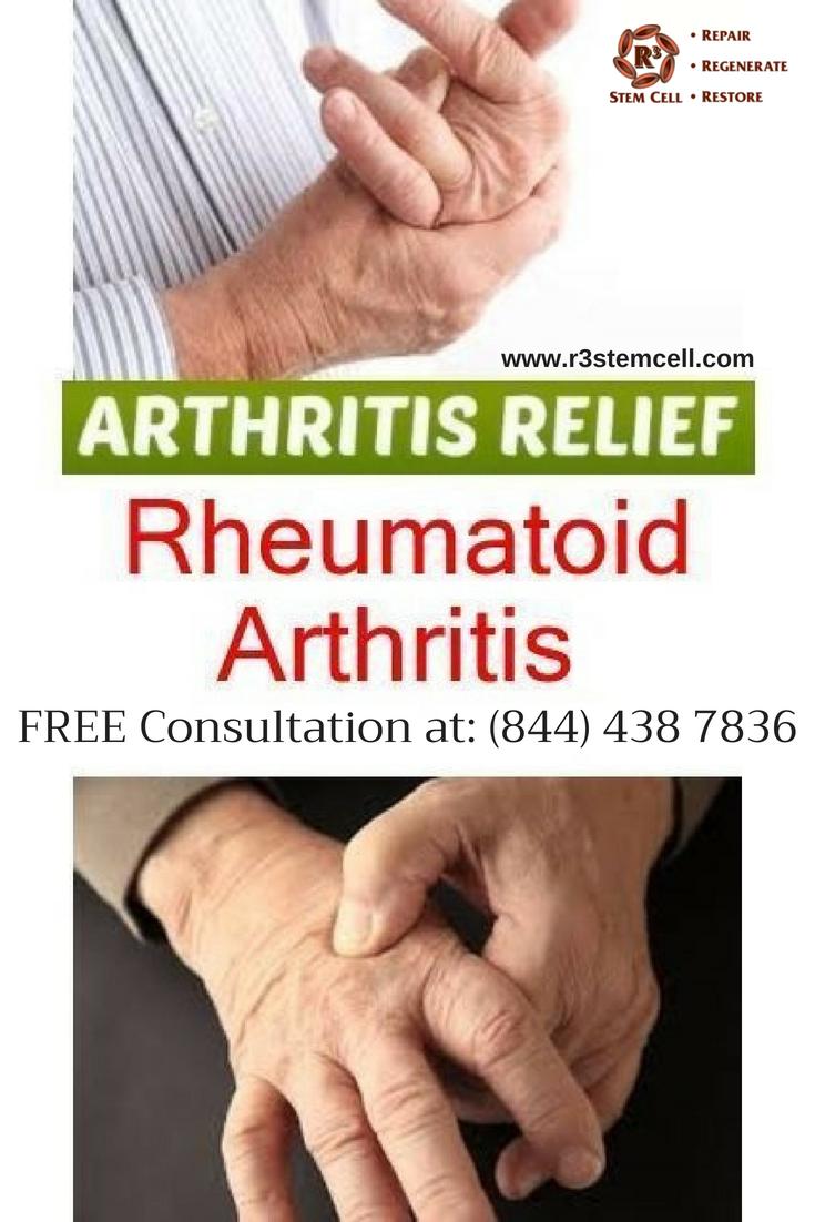 Learn How R3 Stem Cell Is Treating Rheumatoid Arthritis With Stem Cell Therapy As Regene Rheumatoid Arthritis Diet Juvenile Rheumatoid Arthritis Knee Arthritis