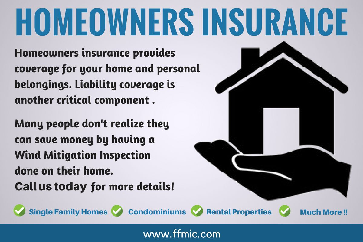 Homeowners Insurance Provides Coverage For Your Home And