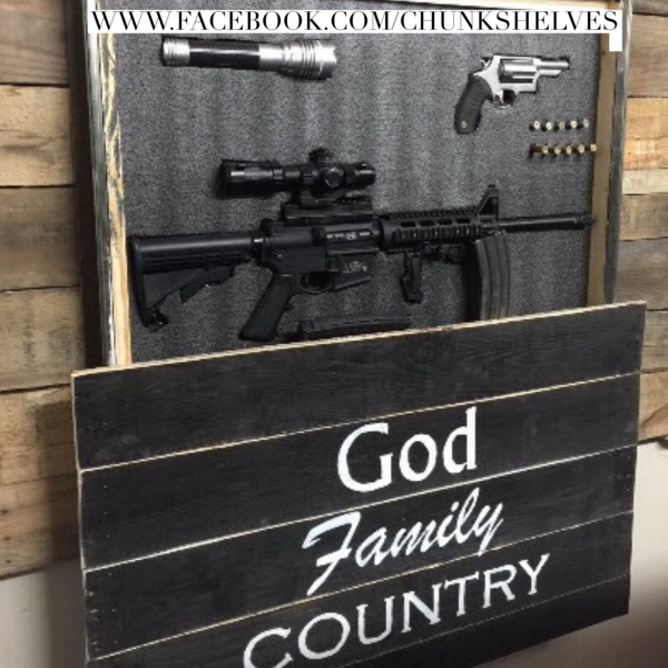 God Family Country Home Defense Concealment Art Flags