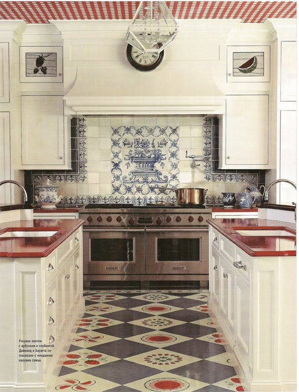 Best A Way To Think About Red White And Blue Kitchen Flooring 400 x 300