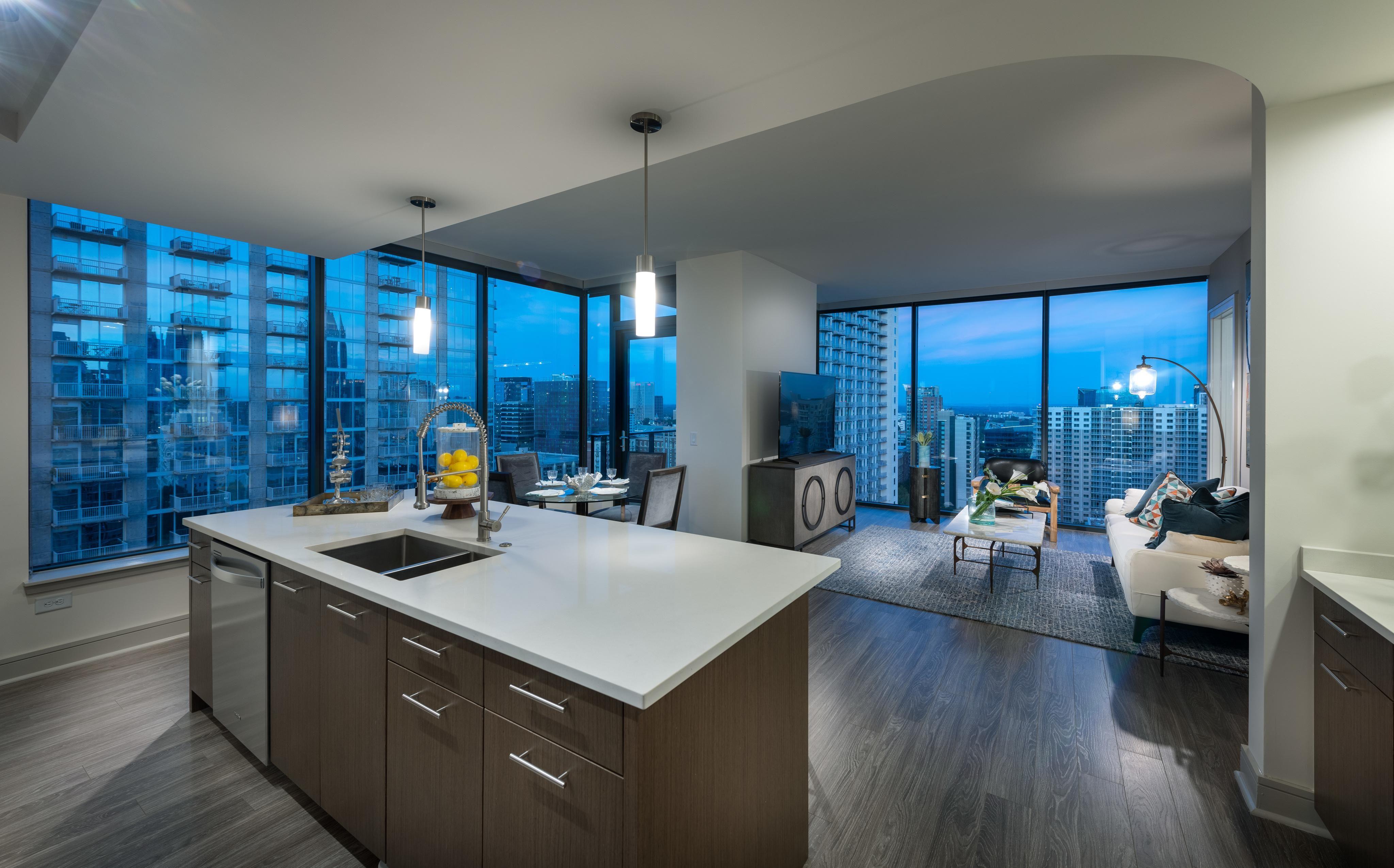 Pin By Victoria Burden On Home Sweet Whatever Luxury Apartments Atlanta Apartments Houston Apartment