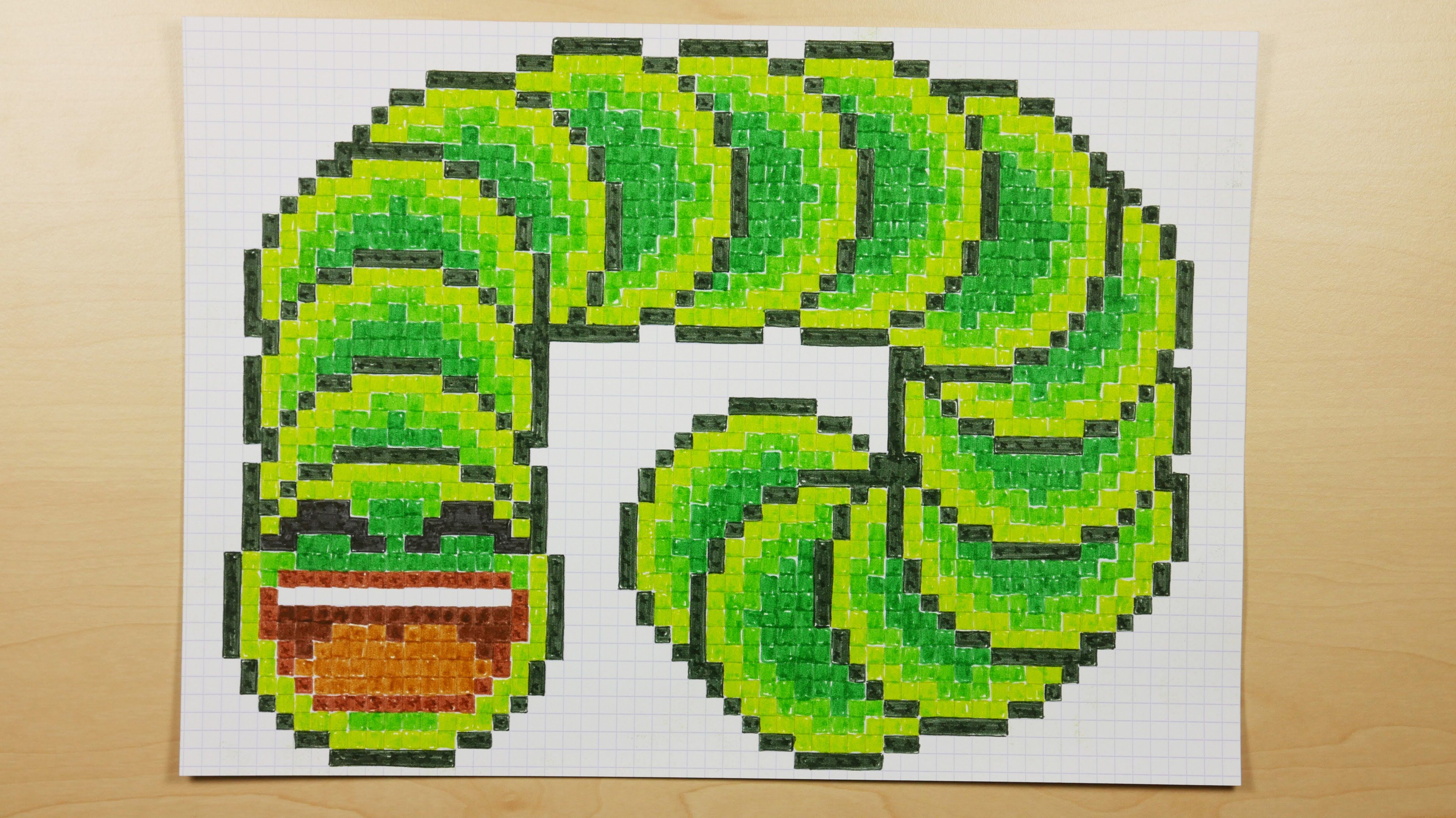 How to Draw a Video Game Slither.io Jelly Snake - Pixel Art Doodle ...