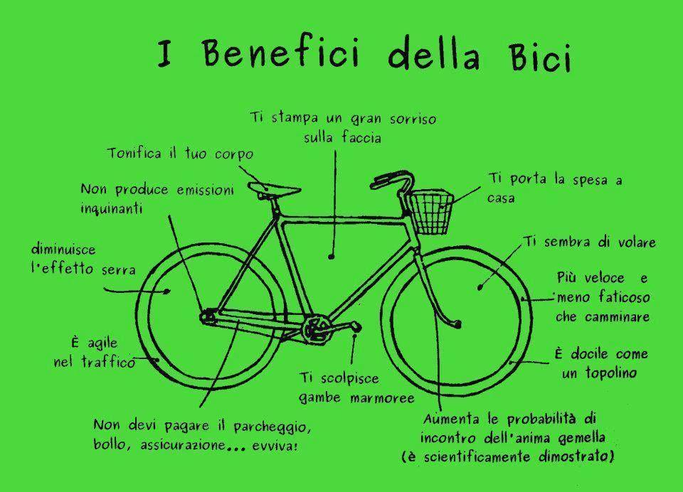 i vantaggi di andare in bicicletta per perdere peso