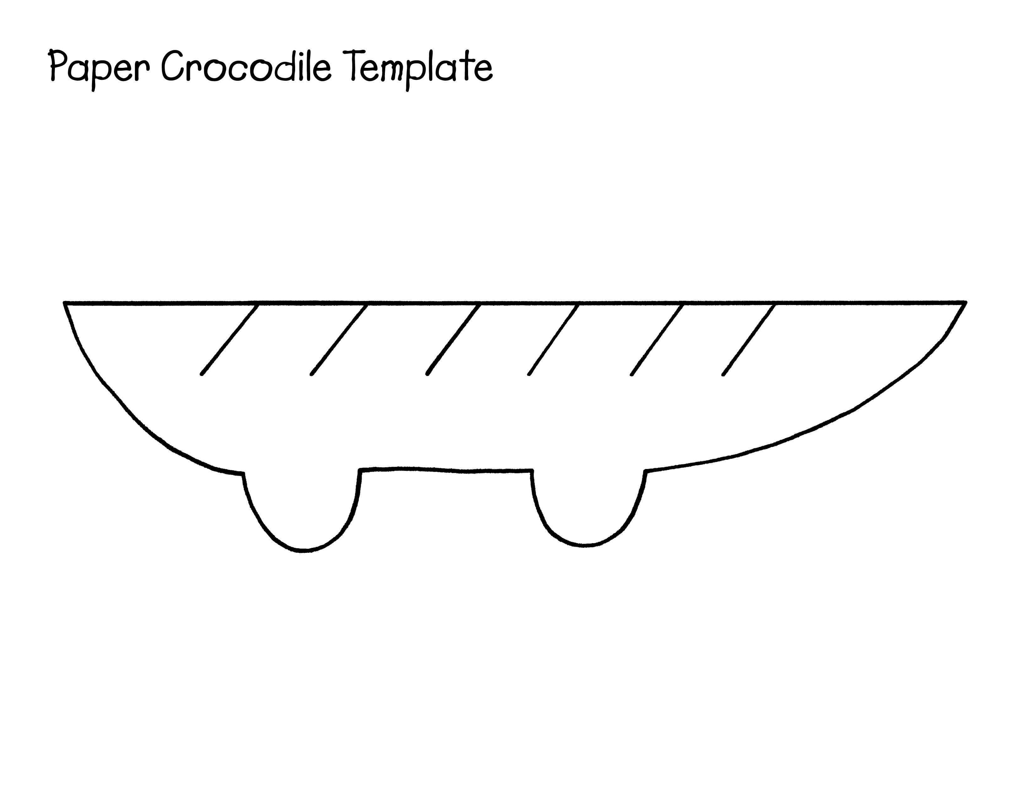 Tamplate 4 The Paper Crocodile