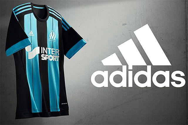 Terceira Camisa do Olympique de Marselha 2015-2016 Adidas