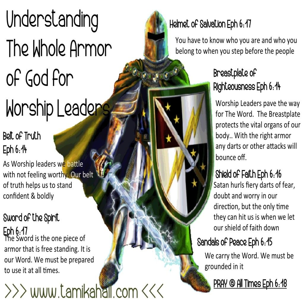 The Whole Armor of God for Worship Arts Leaders | TamikaHall.com