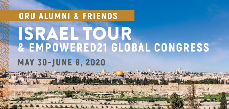 Oru Israel Tour Empowered21 Global Congress Christian Tour To