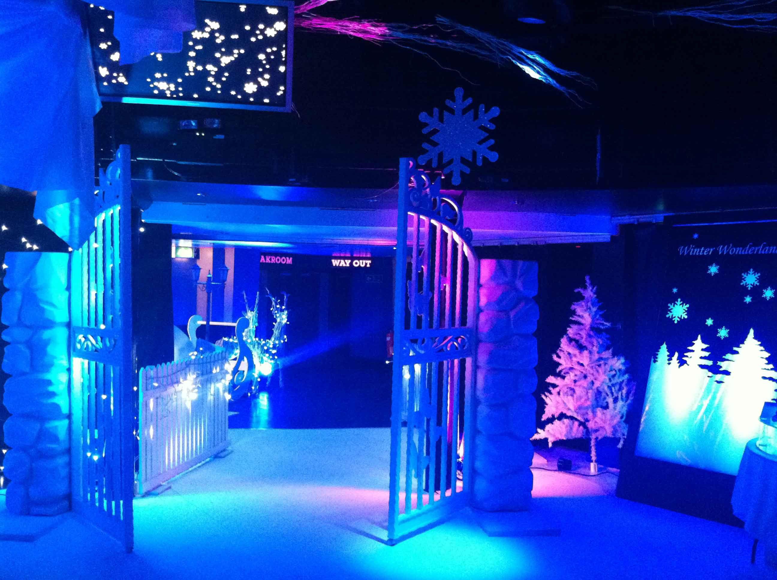 Winter Wonderland Corporate Event Winter Wonderland