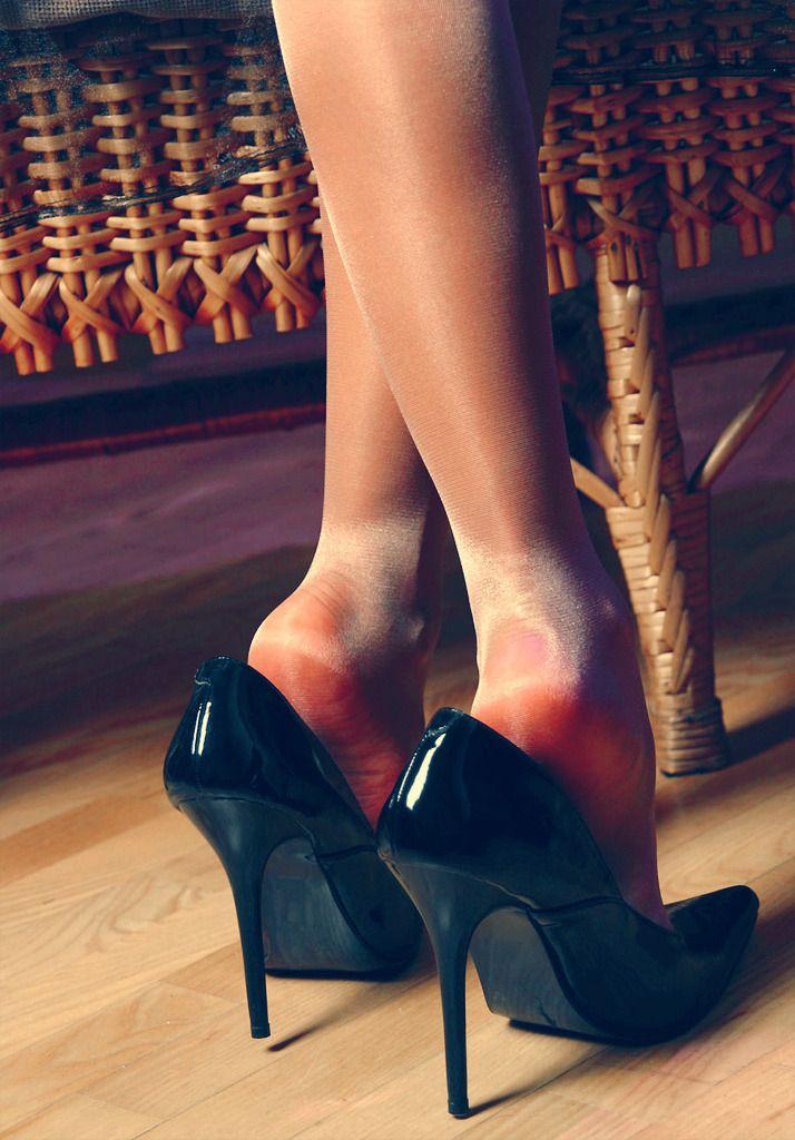 The Pantyhose Feet Boss
