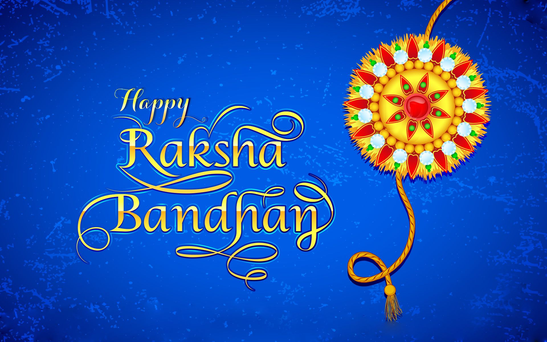 Beautiful Rakhi Hd Wallpaper Happy Raksha Bandhan Rakhi Brother