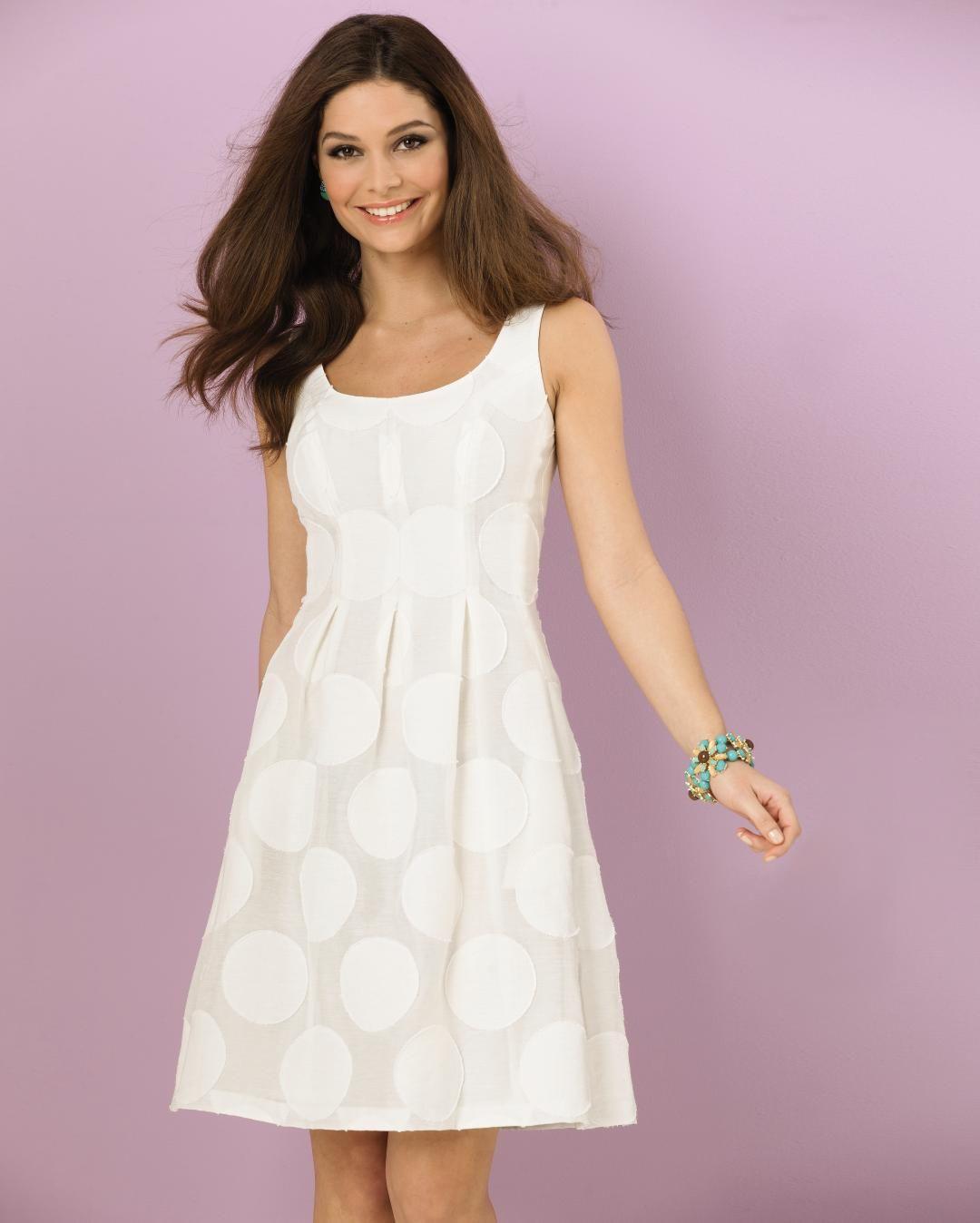 7ceef1166d3 Nine West polka dot fit   flare  dress.  SteinMart