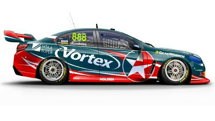 Craig Lowndes No 888 Team Vortex Holden Commodore Super Cars Holden Commodore V8 Supercars