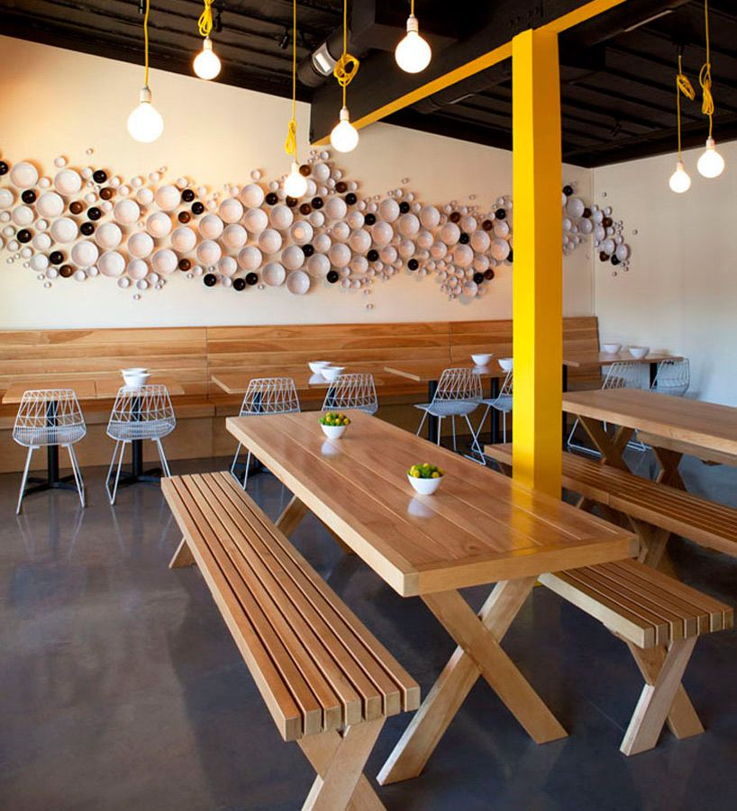 Fleetwood Fernandez Architects Designs Yellow Fever Eatery In La