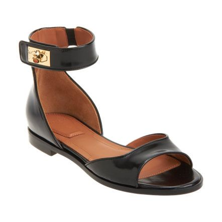 d851d4d435d11 Spazzalato leather open toe sandal with wide front band and closed ...