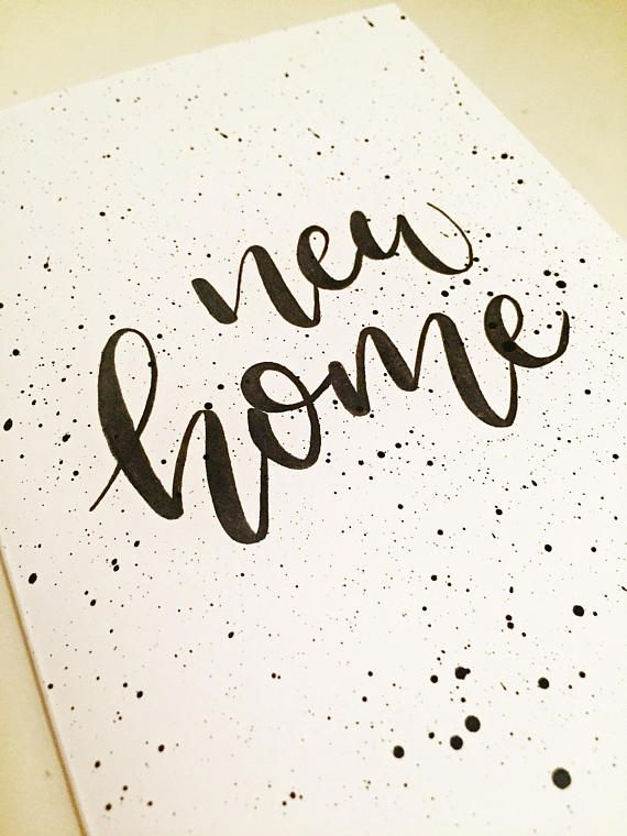 Finding nido new home card new house card moving card greeting finding nido new home card new house card moving card greeting card available on etsy card newhome housewarming home handlettering brushlettering m4hsunfo