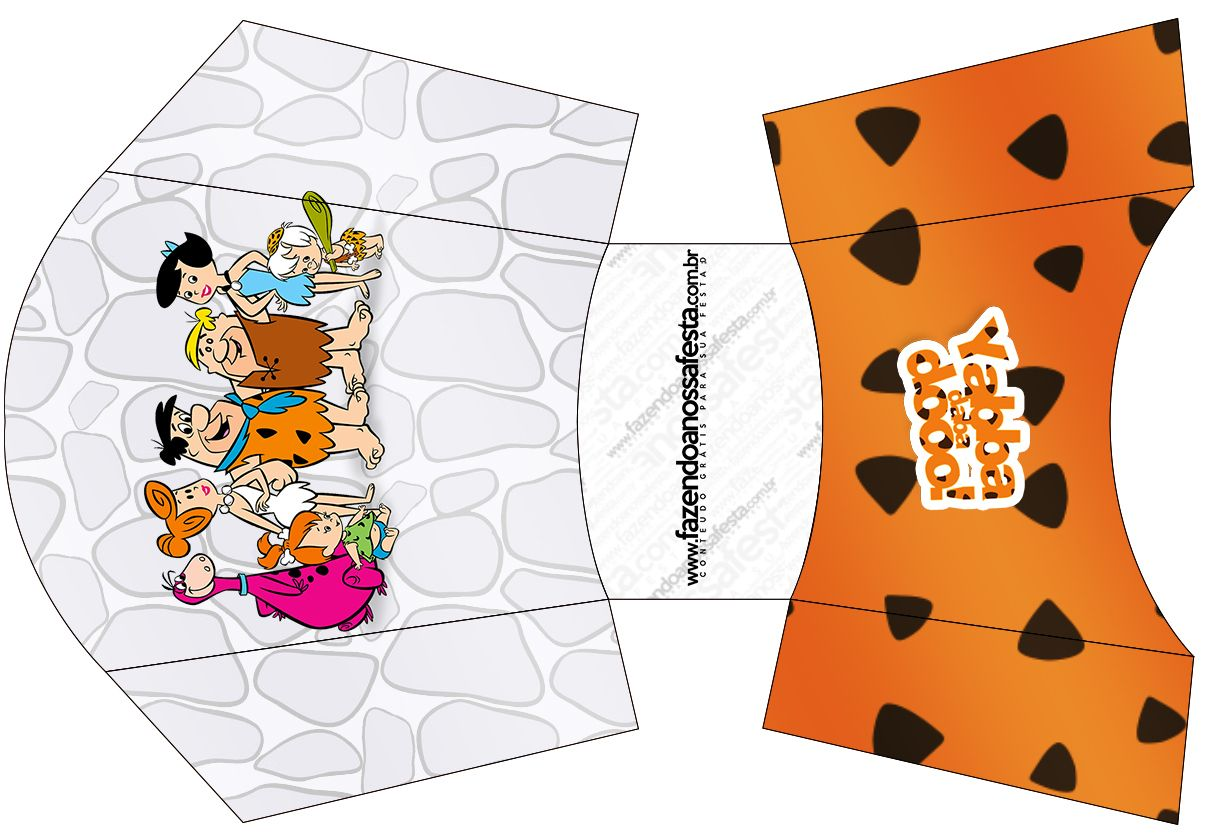Envelope Fritas Os Flintstones:
