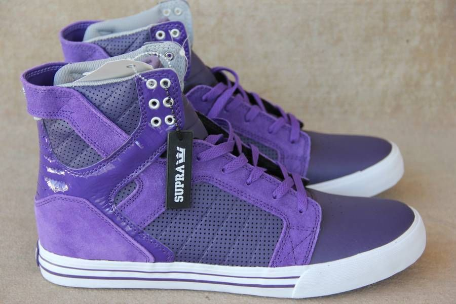 NWOB~Supra Purple Skytop~Sneakers~US 13~Sold out from 2010