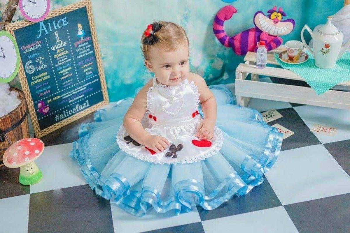 Fantasia Alice No Pais Das Maravilhas Vestido Alice No Pais Das