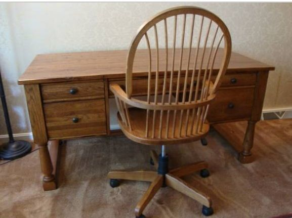 Broyhill Attic Heirloom Desk And Chair Furniture Collection