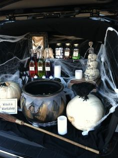 Witch Trunk Or Treat Theme Google Search Trunk Or Treat Trunk
