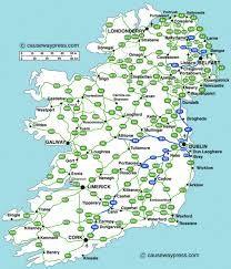 Map Of Ireland For Driving.Map Of Ireland Highways Twitterleesclub