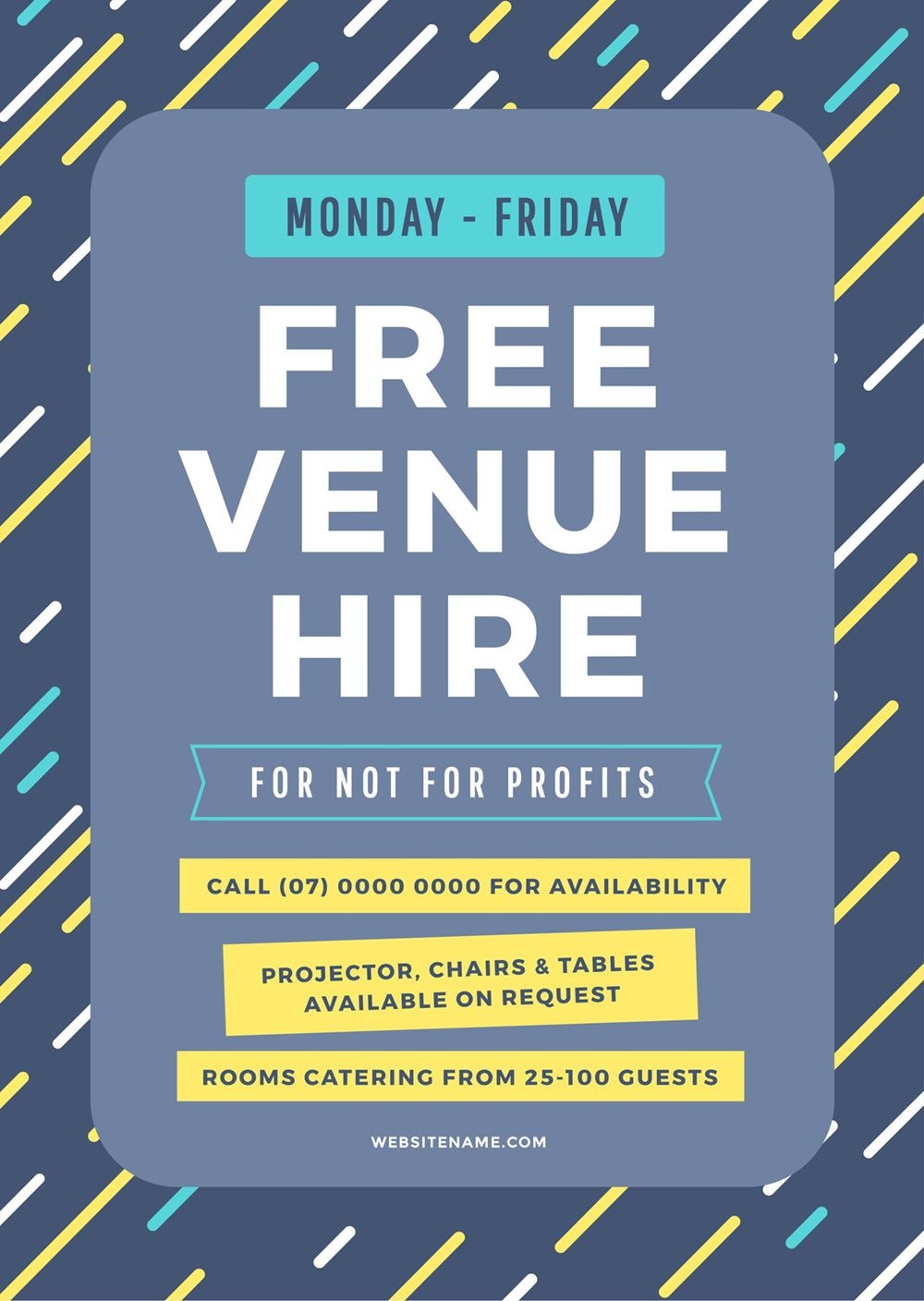 How To Get More Event Bookings At Your Venue 21 Easy Tips Easil Event Planning Poster Event Marketing Plan Event Planning Quotes