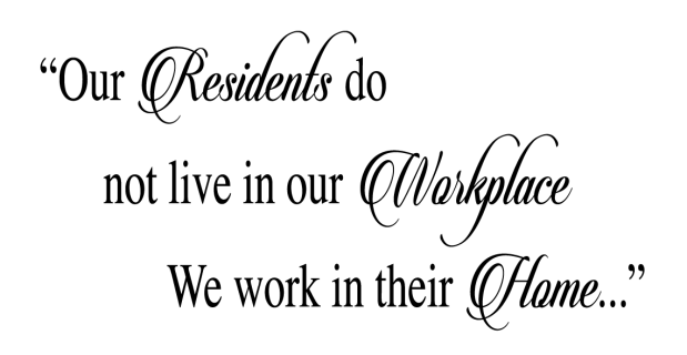 Our Residents do not live in our | Sticker wall art, Vinyl wall ...