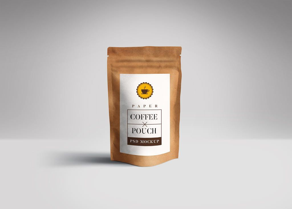 Download Show Off Your Label Design By Using This Paper Pouch Packaging Mockup Layered Paper Pouch Packaging Mockup Pouch Packaging