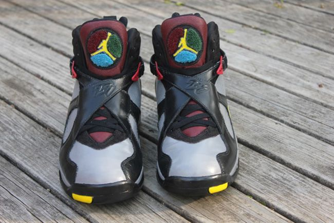 b615c04579c551  Bordeaux  Air Jordan 8 Custom by Ceezem - EU Kicks  Sneaker Magazine