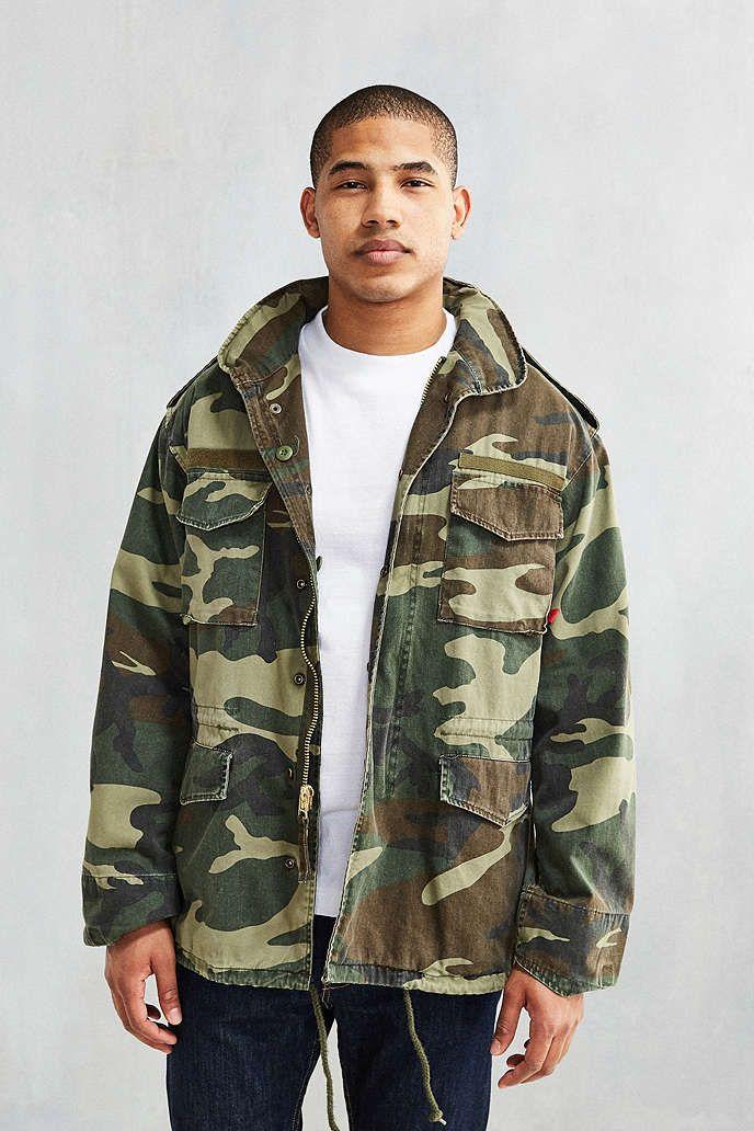 36004a1f76ce8 Rothco Washed Camo M65 Jacket | Jackets and coats | M65 jacket ...