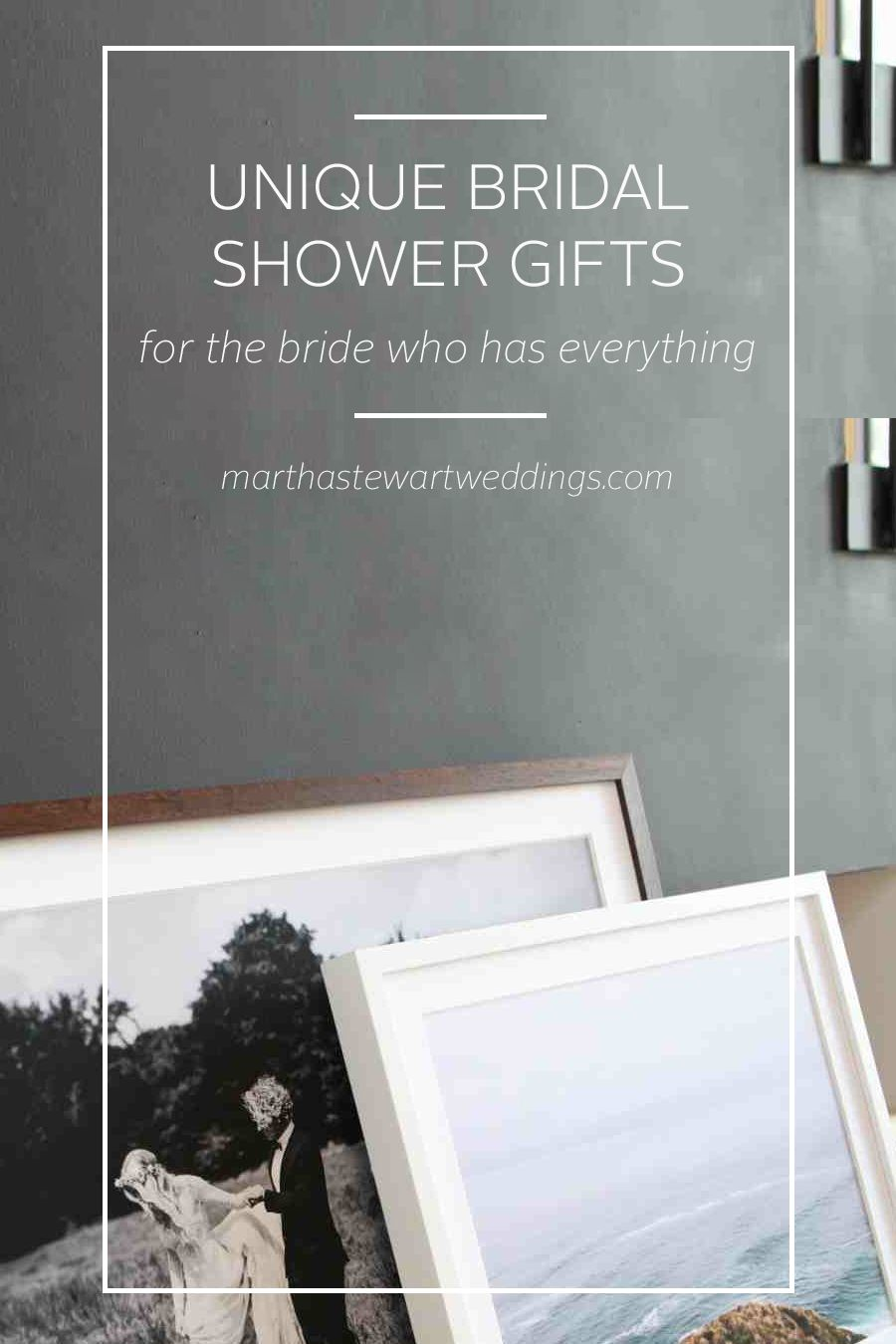 unique bridal shower gifts for the bride who has everything martha stewart weddings
