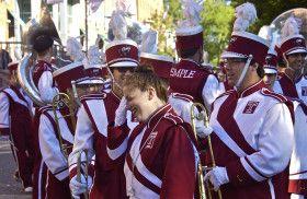 Really bad; Diamond Marching Band; Temple University; Philadelphia, Pennsylvania, USA.  October 2013.