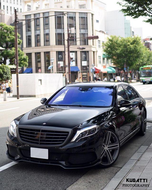 S550 Modified By Brabus. #MercedesBenz #s550 #Brabus