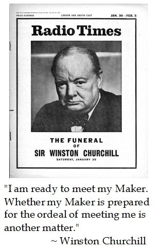 Winston Churchill on death #quotes | Pearls of Wisdom | Pinterest ...
