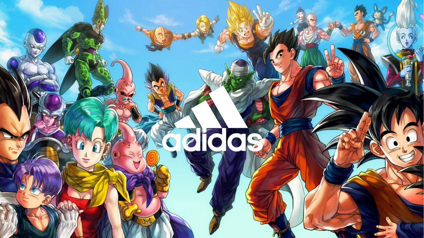 adidas x Dragon Ball Z (Collection) Releasing Fall 2018