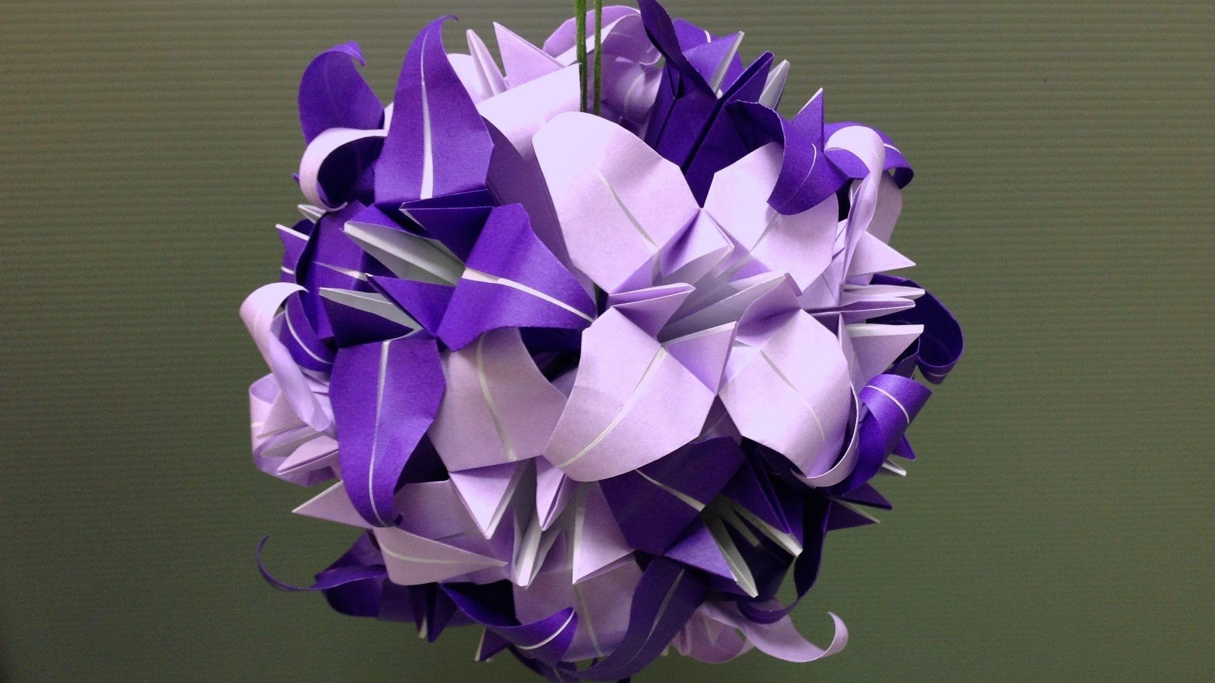 How to make origami iris flower | 1332x2368