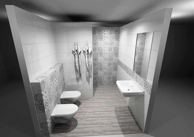 Obklady A Dlažby Ve Stylu Patchworku Siko Koupelny