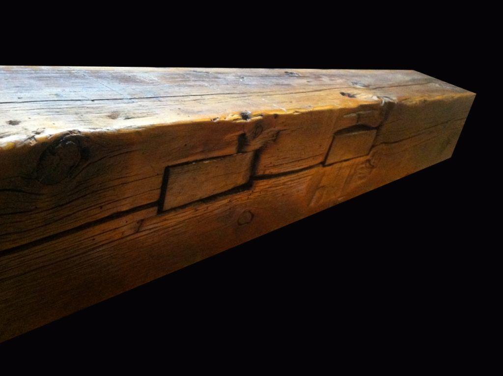Barn Beam Fireplace Mantels | Barn beams, Rustic mantle ...