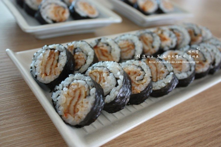 어묵김밥 - 매운어묵김밥