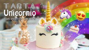 Vídeo paso a paso para hacer una preciosa y mágica tarta unicornio. Es una de las tartas más bonitas y fáciles que he hecho. Y lo bueno es que podemos decorarla con los colores que queramos para darle nuestro toque personal ;) | https://lomejordelaweb.es/
